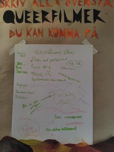 Poster Svenska Queera filmer