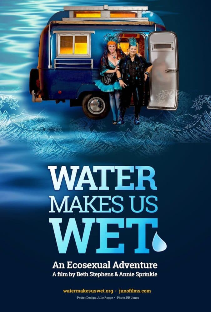 Water Makes us Wet Poster