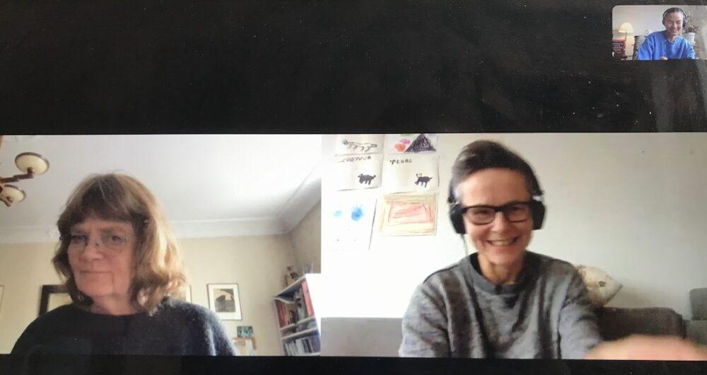 Skype recording Marie Falksten