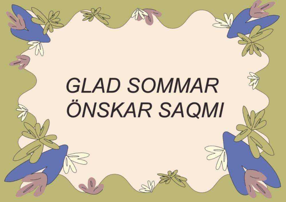 Glad Sommar 2021