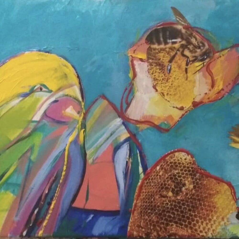 Susana painting
