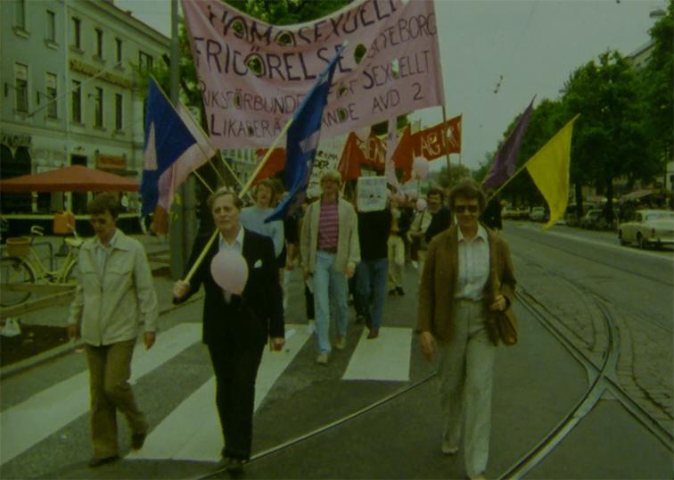 Gay Liberation Weekend, Gbg 1981.
